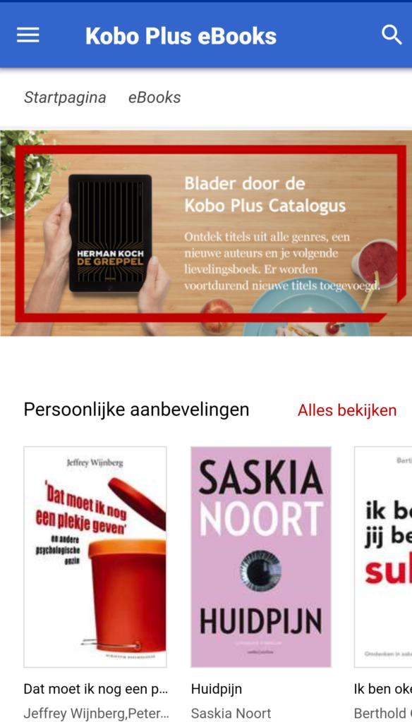 bol.com kobo plus abonnement