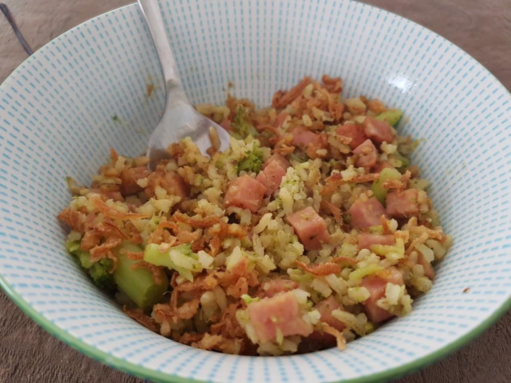 Nasi brocolli